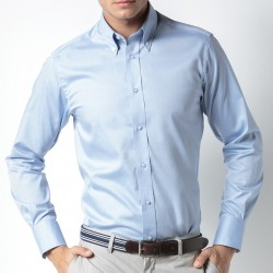 Business Tailored Fit Poplin Shirt