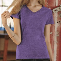 Women´s Fashion Basic V-Neck Tee